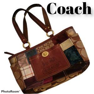 Coach Limited Edition Patchwork Tote Handbag purse